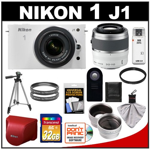 Nikon 1 J1 Digital Camera Body  10-30mm VR Lens