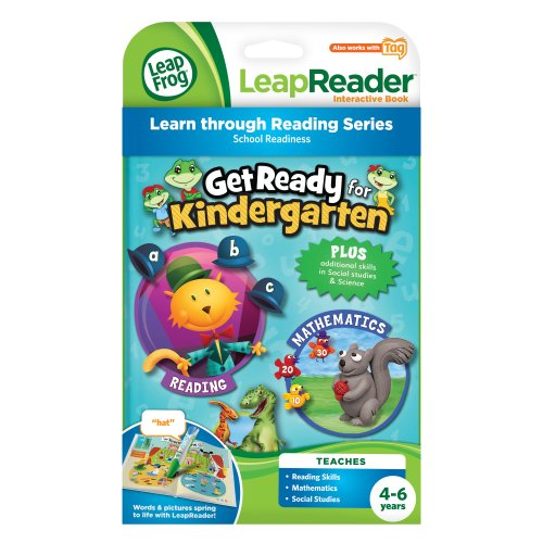 LeapFrog LeapReader Book: Get Ready for Kindergarten (works with Tag) JungleDealsBlog.com
