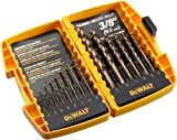 DEWALT DW1263 14-Piece Cobalt Pilot Point Twist Drill Bit Set