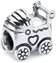 Pandora  Silver Baby Carriage Bead 790346