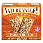Nature Valley Peanut Butter Crunchy Granola Bars 8.9 oz (Pack of 12) Reviews