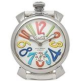(ガガミラノ) GAGA MILANO ガガミラノ 時計 メンズ GAGA MILANO 5010.01 S MANUALE マヌアーレ 48MM スイスメイド メンズ腕時計 ウォッチ ホワイト [並行輸入品]
