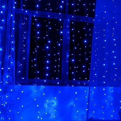 AGPtek 110V 2W 8.5ft(2.5M) Decorative LED String Light 20 LED for Christmas Wedding Party Holiday Home Garden Decoration