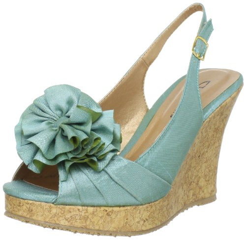 CL by Chinese Laundry Women's Ilena Slingback Sandal,Aqua,7.5 M US