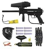 Tippmann A-5 w/ Response Paintball Marker Gun 3Skull BC Mega Set