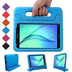 BMOUO EVA ShockProof Light Weight Kids Case with Handle for Samsung Galaxy Tab A 8-inch Tablet - Blue