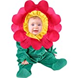 Cute Infant Baby Girl Pink Flower Costume (6-12 months)