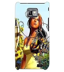 ColourCraft Cartoon Design Back Case Cover for SAMSUNG GALAXY S2 I9100