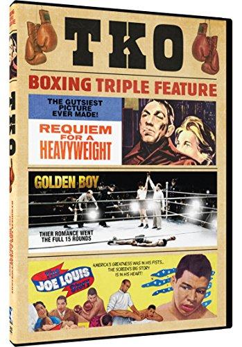 TKO Boxing Triple Feature: Requiem for a Heavyweight, Golden Boy, The Joe Louis Story