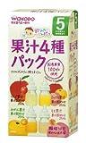 和光堂 飲みたいぶんだけ 果汁4種パック (5g×10)×3箱