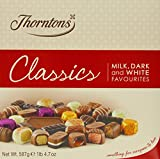 Thorntons Classics Milk/ White/ Dark 587 g