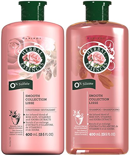 Herbal Essences Smooth Collection, DUO Set Shampoo + Conditioner, 13.5 Ounce, 1 Each