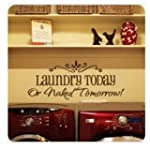 DIY Removable Laundry Room Quote Deca...