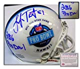 Lofa Tatupu Seattle Seahawks NFL Hand Signed 2006 Pro Bowl Mini Helmet with Inscription at Amazon.com