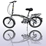 American Phoenix 20 Folding Bike 6 Speed Fold Storage Bicycle