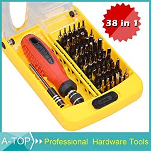 6088a screwdriver set 38 in 1 versatile precision camera photo. Black Bedroom Furniture Sets. Home Design Ideas