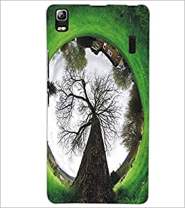 LENNOVO A7000 TREE Designer Back Cover Case By PRINTSWAG