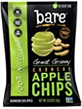 Bare Natural Granny Smith Apple Chips, Gluten Free + Baked, 0.53-Ounce Bags (Pack of 24)