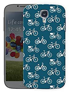 """Humor Gang Cycles PatternPrinted Designer Mobile Back Cover For """"Samsung Galaxy S4"""" (3D, Matte, Premium Quality Snap On Case)..."""