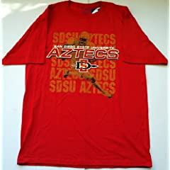 San Diego State Aztecs Mens Champion Short Sleeve T-Shirt Red (L) by Champion