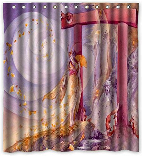 Evan Shop Fae Portal Art Shower Curtain Tub Shower Curtain Bathroom Shower Curtain (Portal Bath Tubs compare prices)