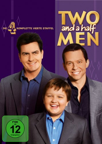 Two and a Half Men: Mein cooler Onkel Charlie - Die komplette vierte Staffel (4 DVDs)