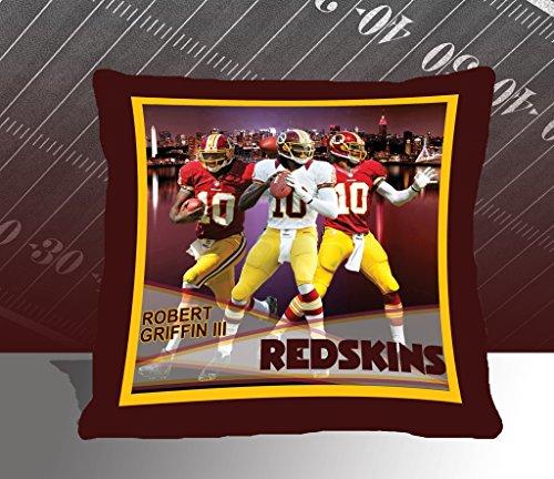 Nfl Biggshots Bedding - Washington Redskins Robert Griffin Iii Toss Pillow, 18-Inch front-411851
