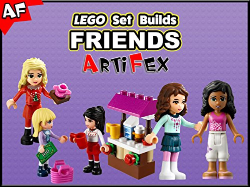 Clip: Lego Set Builds Friends - Season 1