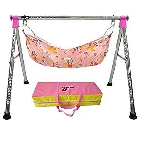 Multipro Indian Style Ghodiyu Born Baby Sleep Swing Cradle