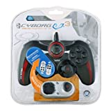 "Mad Catz CYBORG V.3 Rumble Pad f�r PC / PS3 / PS2von ""Saitek"""
