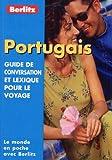 echange, troc Guide Berlitz - Guide de conservation et lexique pour le voyage : Portugais