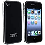 Leegoal(TM) Bumper for iPhone4 (AT&T) Black/Clear