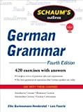 Schaums Outline of German Grammar, 4ed (Schaums Outline Series)