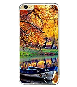 Boat in Nature Park 2D Hard Polycarbonate Designer Back Case Cover for Apple iPhone 6s Plus :: Apple iPhone 6s+
