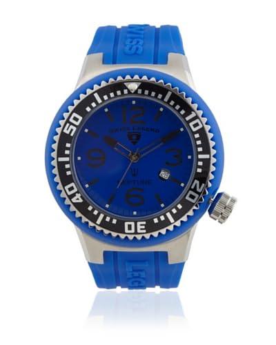Swiss Legend Men's SL-21818P-03-BLBS Neptune Blue Rubber Watch