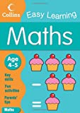 Collins Easy Learning EASY LEARNING MATHS AGE 4-5