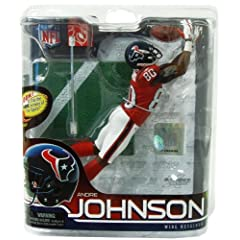 Andre Johnson Houston Texans Red Jersey White Pants Mcfarlane Action Figure Series 28 by Unknown