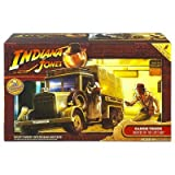 CARGO TRUCK * CLOTH TOP * Raiders of the Lost Ark 2008 Indiana Jones Deluxe Vehicle