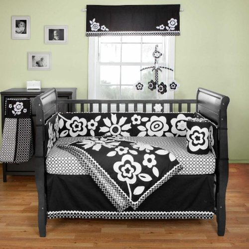 Black Friday 2013 Zia 3 Piece Crib Bedding Set by Bananafish