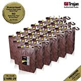 18x Trojan L16RE-2V Renewable Energy 2V Deep Cycle Battery 1110Ah