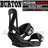 13-14 2014 BURTON MISSION Re:Flex BLACK GRIT...