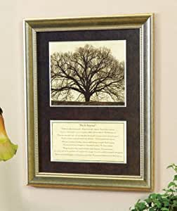 """""""Do It Anyway"""" Framed Print - Trees (Poem By Mother Teresa)"""