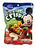 Brothers-All-Natural Mickey Mouse Apple-Cinnamon Crisps, 0.35-Ounce (Pack of 12)