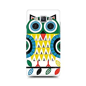 Ebby Colorful Owl Premium Printed Case For Samsung A7
