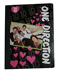 1D One Direction 80 Page Composition Notebook (Graphics/Color Vary) by Global Merchandising Services, Inc