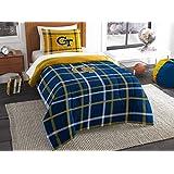 The Northwest Company Northwest NCAA Georgia Tech Twin Comforter & Sham