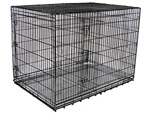 Go Pet Club Dog Wire Cage, 54-Inch