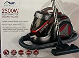 NEW 2500W 5L BAGLESS CYCLONIC VACUUM CLEANER HOOVER RED