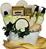 Art of Appreciation Gift Baskets   Peace and Relaxation Eucalyptus Spa Bath and Body Set