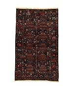 Kilim Carpets by Jalal Alfombra Afg Bel Zakini (Negro/Multicolor)